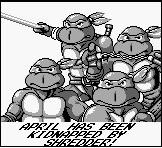Teenage Mutant Ninja Turtles - Fall of the Foot Clan, capture décran