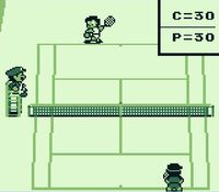 Tennis sur Nintendo Game Boy