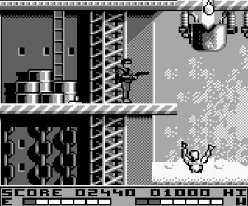 une photo d'écran de Terminator 2 - Judgment Day sur Nintendo Game Boy