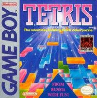 Photo de la boite de Tetris