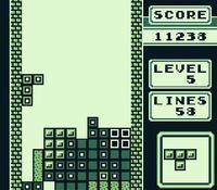 Tetris sur Nintendo Game Boy