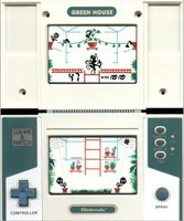 une photo d'écran de Green House sur Nintendo Game and Watch