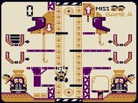 Mario s Cement Factory sur Nintendo Game and Watch
