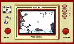 Popeye (Widescreen) sur Nintendo Game and Watch