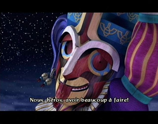 une photo d'écran de Baten Kaitos sur Nintendo Gamecube