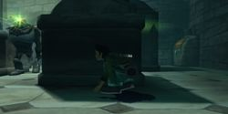 une photo d'écran de Beyond Good and Evil sur Nintendo Gamecube