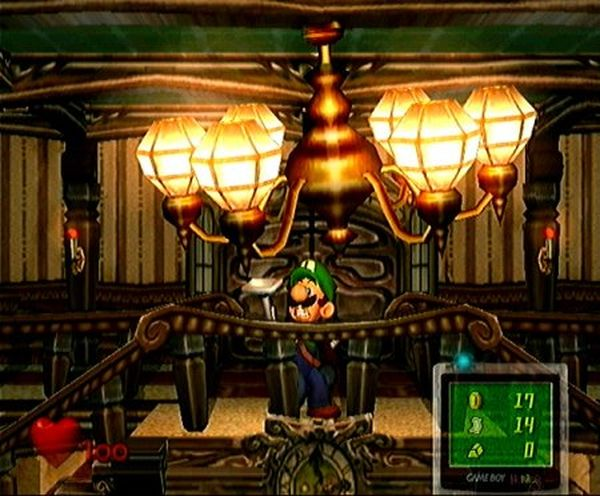 une photo d'écran de Luigi s Mansion sur Nintendo Gamecube
