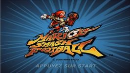 Mario Smash Football, capture décran