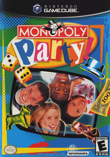 Photo de la boite de Monopoly Party