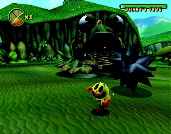 une photo d'écran de Pac-Man World 2 sur Nintendo Gamecube