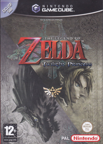 Photo de la boite de The Legend of Zelda - Twilight Princess