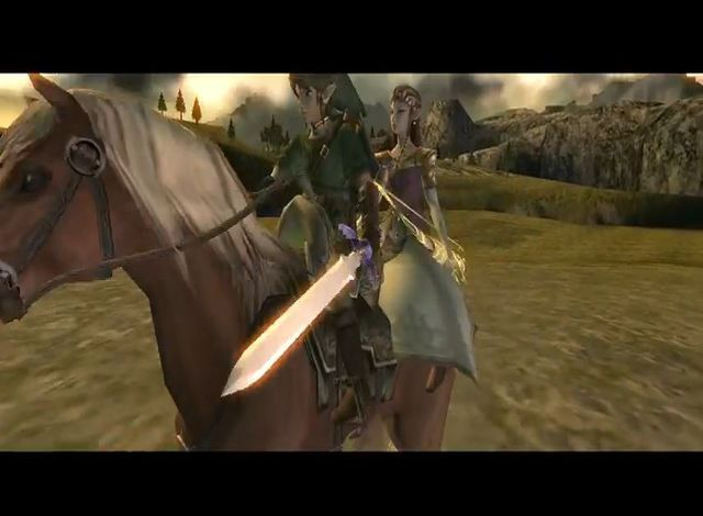 une photo d'écran de The Legend of Zelda - Twilight Princess sur Nintendo Gamecube