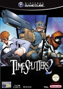 Photo de la boite de Time Splitters 2