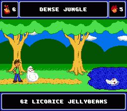 une photo d'écran de A Boy And His Blob sur Nintendo Nes