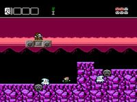 une photo d'écran de Battle Kid 2 - Mountain of Torment sur Nintendo Nes
