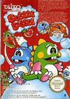 Photo de la boite de Bubble Bobble