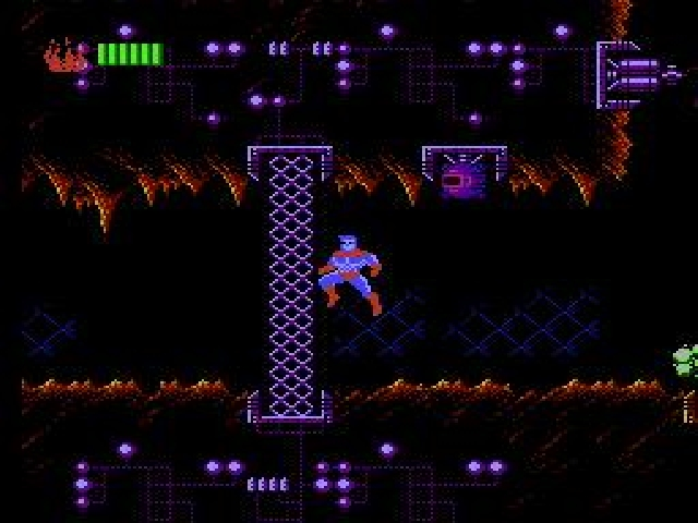 une photo d'écran de Captain Planet and the Planeteers sur Nintendo Nes
