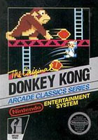Photo de la boite de Donkey Kong