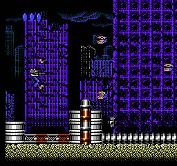 une photo d'écran de Final Mission sur Nintendo Nes