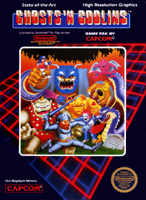 Photo de la boite de Ghosts n Goblins