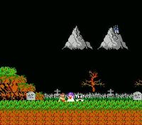 Ghosts n Goblins, capture décran