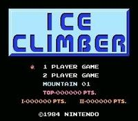 Ice Climber, capture décran