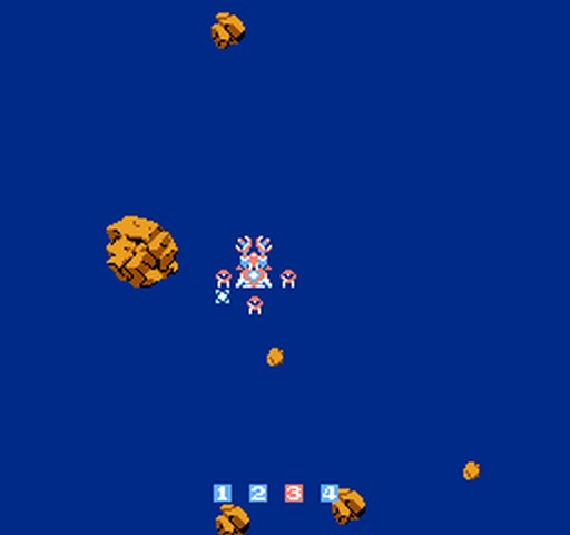une photo d'écran de Image Fight sur Nintendo Nes
