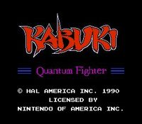 une photo d'écran de Kabuki - Quantum Fighter sur Nintendo Nes
