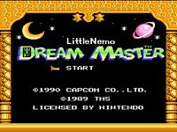 Little Nemo - The Dream Master, capture décran
