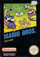 Photo de la boite de Mario Bros