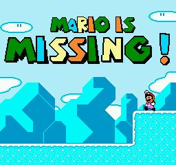 une photo d'écran de Mario is Missing sur Nintendo Nes