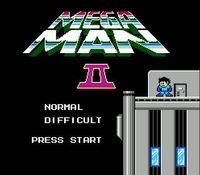 Mega Man 2, capture décran