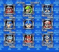 Mega Man 3, capture décran