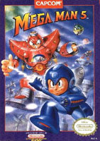 Photo de la boite de Mega Man 5