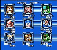 Mega Man 5, capture décran