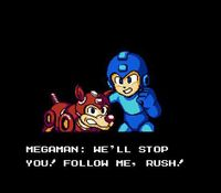 Mega Man 6, capture décran