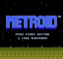 Metroid, capture décran