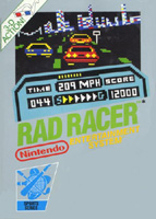 Photo de la boite de Rad Racer