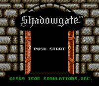 Shadowgate, capture d'écran