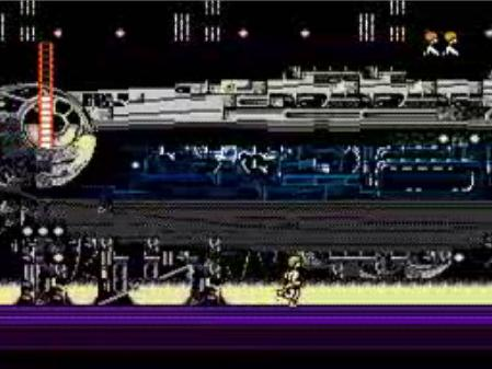 une photo d'écran de Star Wars sur Nintendo Nes