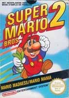 Photo de la boite de Super Mario Bros 2