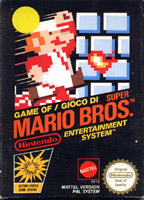 Photo de la boite de Super Mario Bros