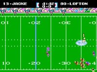 une photo d'écran de Tecmo Super Bowl sur Nintendo Nes