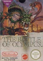 Photo de la boite de The Battle of Olympus