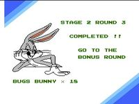 une photo d'écran de The Bugs Bunny Birthday Blowout sur Nintendo Nes