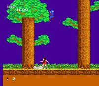 The Legend of Kage sur Nintendo Nes