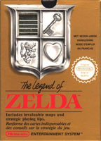Photo de la boite de The Legend of Zelda