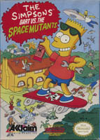 Photo de la boite de The Simpsons - Bart Vs The Space Mutants