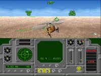 une photo d'écran de Air Cavalry sur Nintendo Super Nes