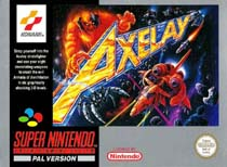 Photo de la boite de Axelay